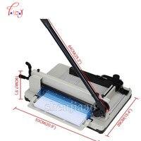Máquina cortadora de papel YG 858-A4 Heavy Duty industrial guillotina 200 Sábanas normal cortador de papel