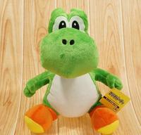 30cm 2016 NEW Super Mario Plush Doll Figure Green Running Yoshi Plush Toy Super Mario Toys