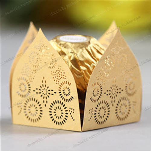 50pcs Lot Chocolate Packaging Decoration Candy Holder Indian Wedding