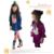 2016 de la muchacha de otoño invierno establece bebé ropa de niños del otoño del resorte sudaderas + pantalones 2 unids / traje establece niñas TZ4