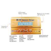 HTRC Imax B6 V2 80W Professional Digital Battery Balance Charger Discharger For LiHV LiPo LiIon LiFe