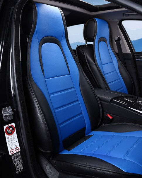 Best Year For Jeep Wrangler >> high quality pu leather fashion blue orange red customized car seat cover set-in Automobiles ...