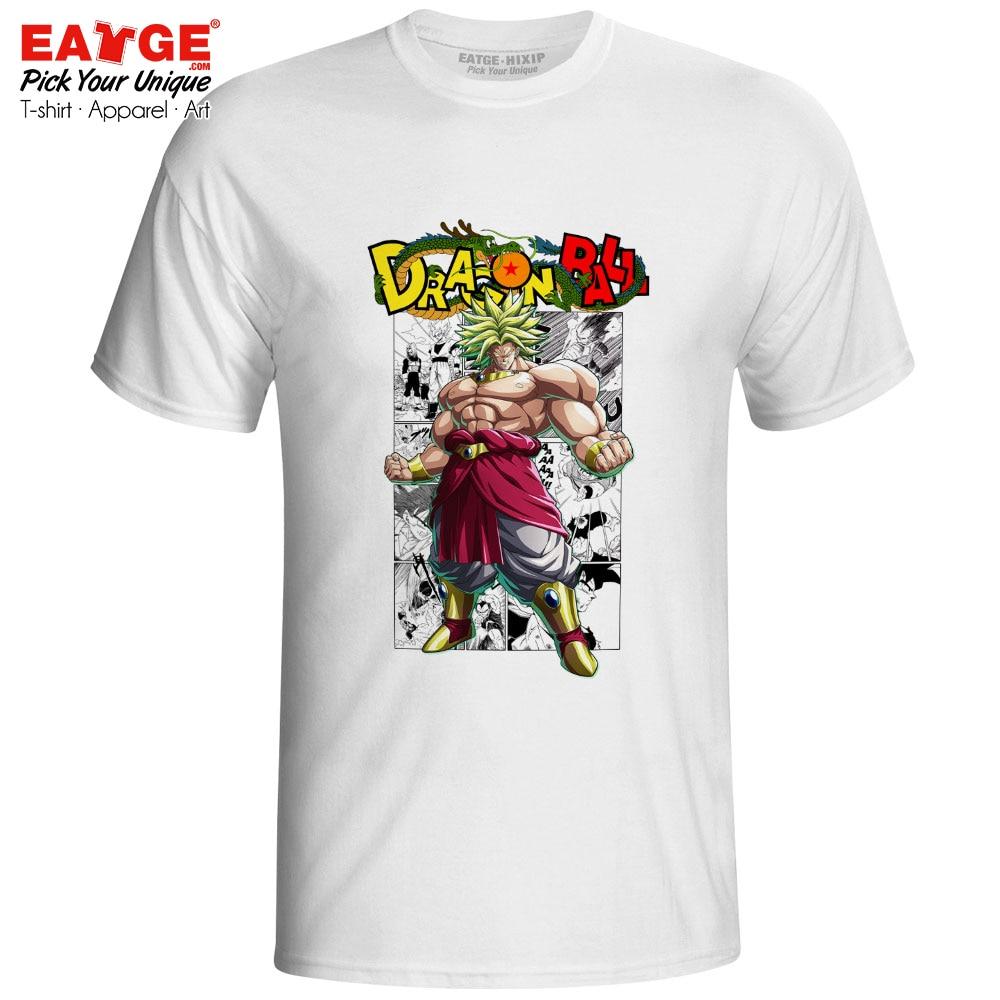 Super Saiyan Green Broli T Shirt Dragon Ball Super Broly Manga Skate Fashion Novelty T shirt Pop Cool Anime Unisex Men Women Tee in T Shirts from Men 39 s Clothing