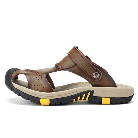 VESONAL 2019 Summer Non-slip Outdoor Hiking Shoes Men Casual Sandals Breathable Fashion Comfortable Beach Sandals 9087 Islamabad