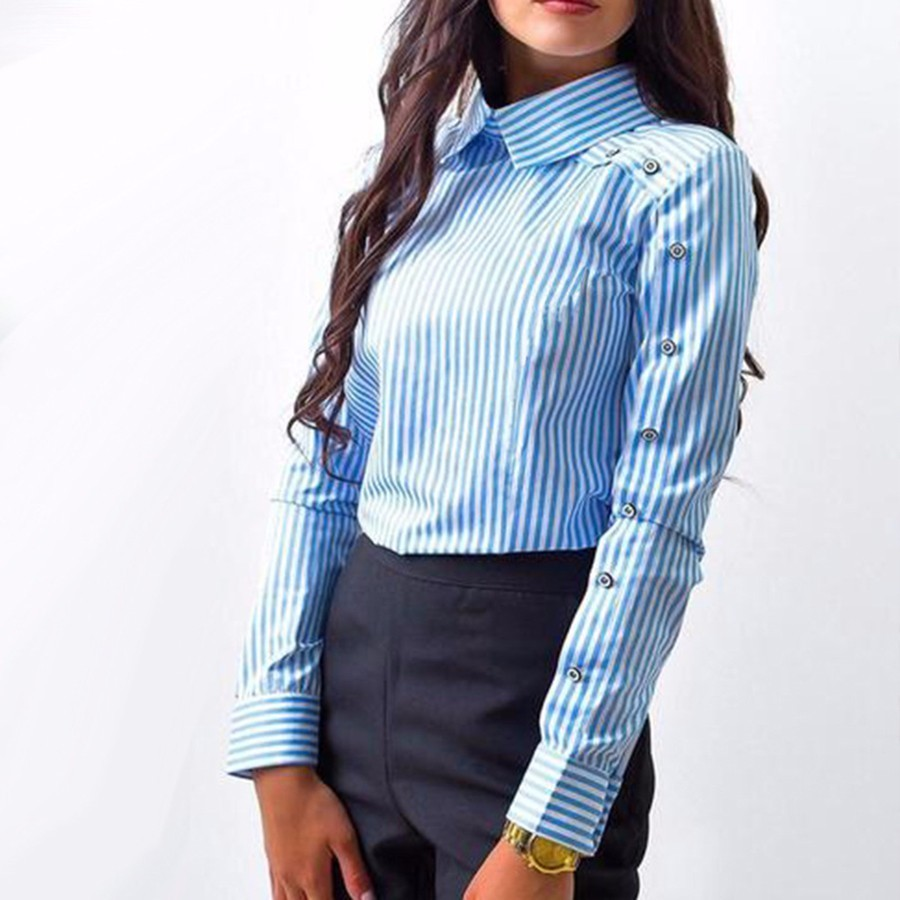 Sale Items Femme Grande Taille Femme Blusa Manga Larga Summer Shirt Elegant Blouse Blusa Feminina Women Clothes XF50003 ...