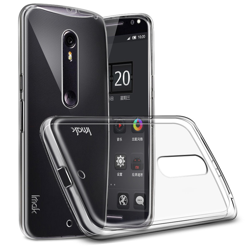 Ultra Thin Soft Silicon Clear TPU <font><b>Phone</b></font> Cover For Motorola Moto X Force <font><b>Case</b></font> 5.4&#8221; <font><b>Droid</b></font> <font><b>Turbo</b></font> <font><b>2</b></font> XT1580 XT1581 / Moto X Style