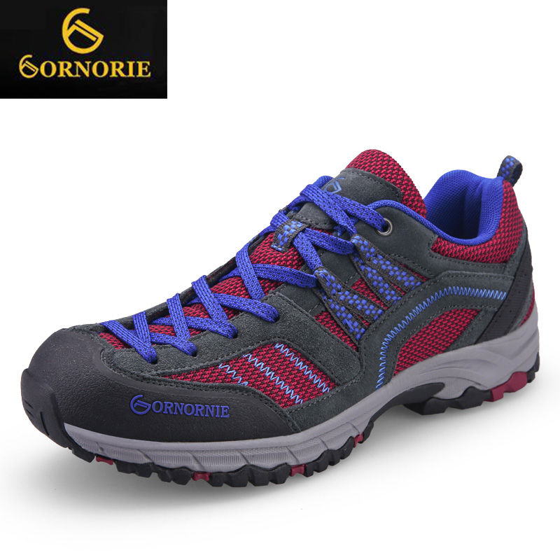 Walking shoes sports men 's hiking shoes ladies shoes sneakers shoes non - slip waterproof soft breathable 15 waterproof hiking shoes breathable men sneakers lace up anti slip outdoor travel walking sports shoes mans footwear xyd118