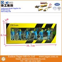 1:50 Масштаб голубая кукла, инженерная фигурка куклы, пожарная фигурка куклы, рабочие фигурки, модель автомобиля, 6 различных фигурок
