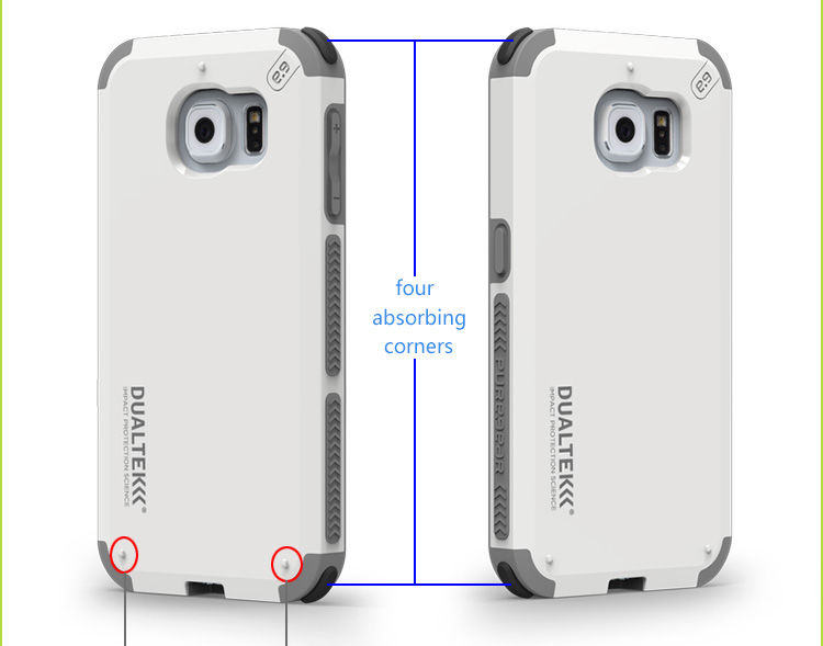 sports shoes d0e4b e957f Puregear Premium Outdoor Anti Shock Dualtek Extreme Shock Samsung Galaxy S8  / S8 Plus / S7 With Retail Packaging