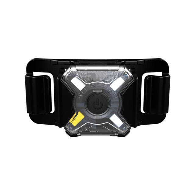NITECORE NU05 ルミニ信号ヘッドランプ 4 * 赤緑青白 Led USB 充電屋外スポーツヘッドライト内蔵リチウムイオンバッテリー