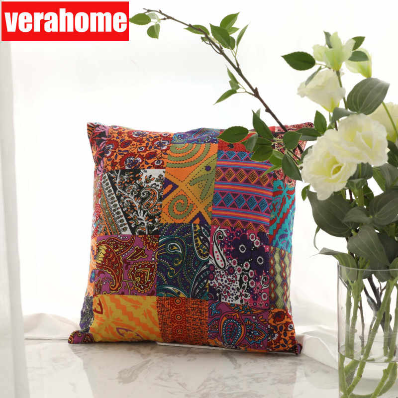 45*45 cm Cotton Linen Throw Pillowcase Pillow cover Home Decorative seat Nordic Europe America