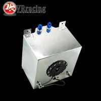 VR RACING-20L Aluminium Brennstoffdruckausgleichbehälter mit sensor brennstoffzellen 20L mit kappe/schaum nach innen VR-TK39