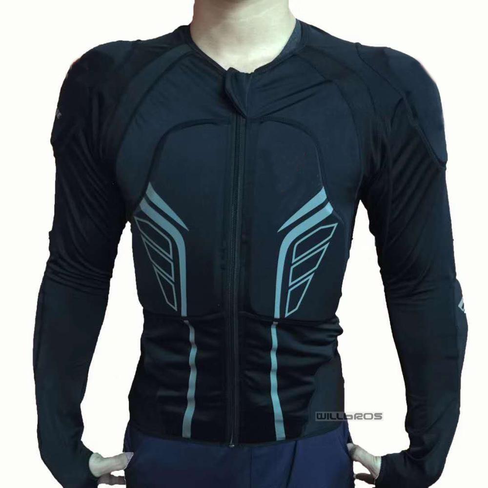 Protection armure moto Pro Street Motocross Protection vtt Protection arrière noir