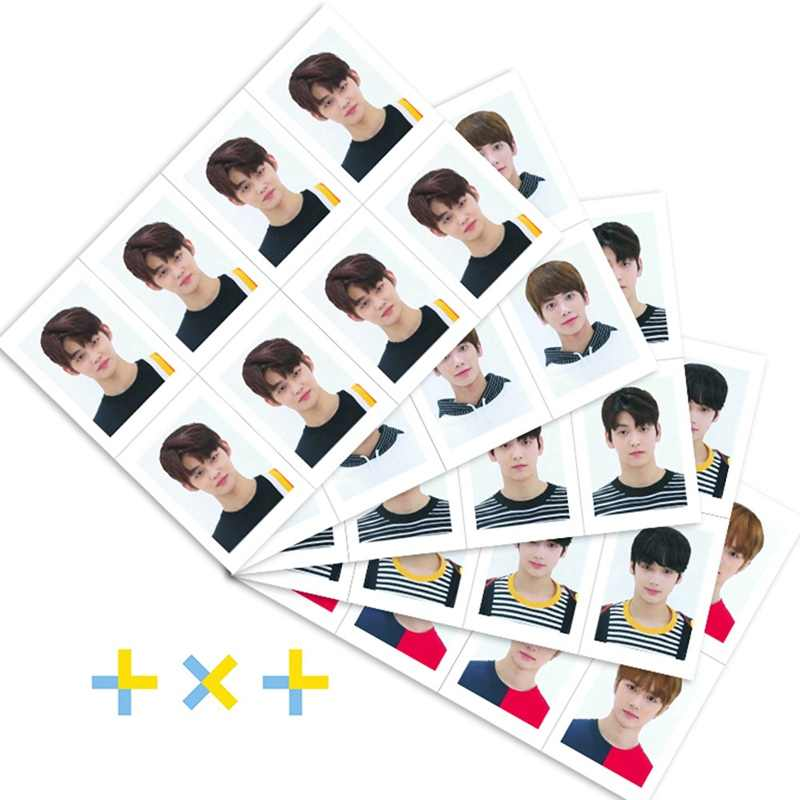 Kpop TXT คนโรงเรียนภาพ ID Dream Chapter: star Taehyun Beomgyu ชุด Photocard Soobin Yeonjun Collective การ์ด 8 pcs