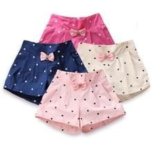 Шорты для девочек летние детские шорты для детей, Короткие штаны с героями мультфильмов популярные брюки с тремя точками повседневные пляжные шорты