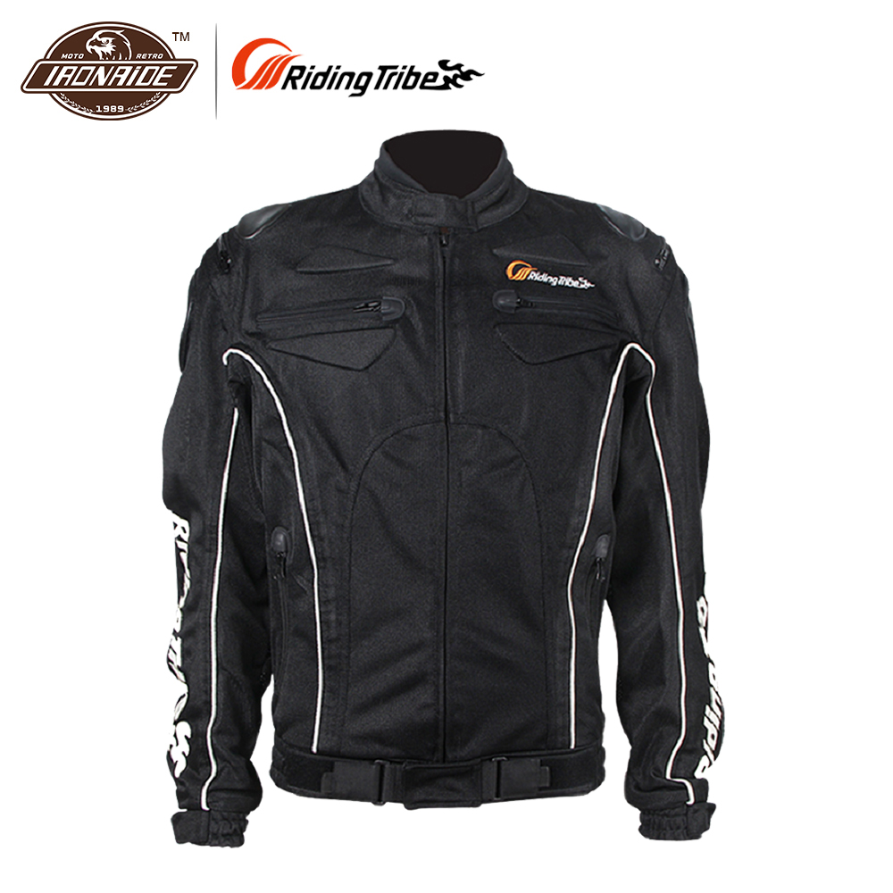 цена на Riding Tribe Men Motorcycle Jacket Summer Clothing Motorbike Protection Riding Clothes Breathable Mesh Motor Bike Jackets