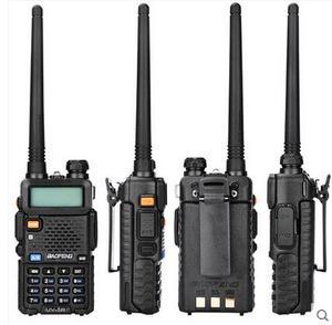 """Image 1 - מקצועי מכשיר קשר 10 ק""""מ UHF VHF 5W UV 5R uv עם פנס VOX FM CB משדר 2 דרך רדיו communicator baofeng uv5r"""
