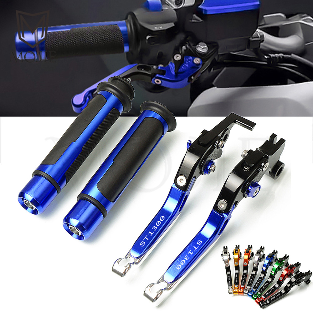For Honda ST1300 ST1300A ST 1300 A 2003 2007 2004 2005 2006 Motorcycle CNC Adjustable Foldable