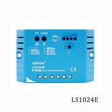 LS1024E 10A 12 v 24 v Epsolar Landstar Solar Controlador de Carga PWM PV 100 w 200 w 18 v Solares reguladores painéis carregador