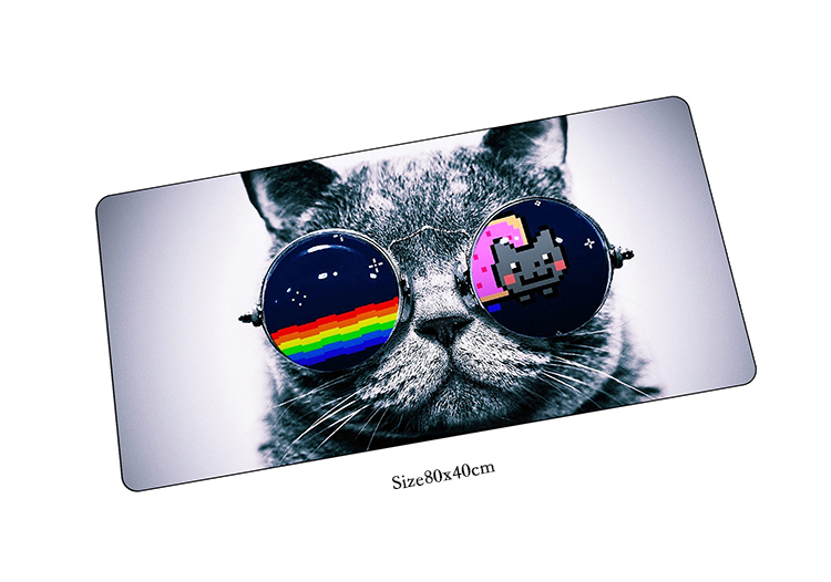 nyan cat mouse pad High quality pad to mouse notbook computer mousepad big gaming padmouse gamer to laptop keyboard mouse mats