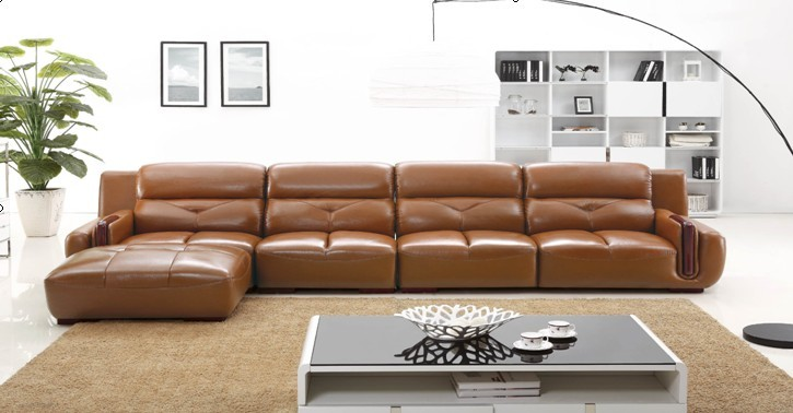High Quality Living Room Sofa Set Designs And Pricesl Shaped Sales
