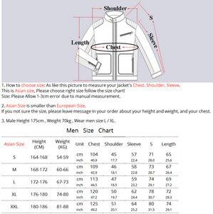 Image 3 - LoClimb Chaqueta Polar de invierno para hombre, abrigo para turismo, montaña, escalada, esquí, senderismo, AM132