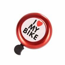 Icycle колокола чистый звук велосипед звуковой сигнал оповещения колокол кольцо велосипед Руль управления для мотоциклов кольцо Рог Велосипедный Спорт Аксессуары Горячие