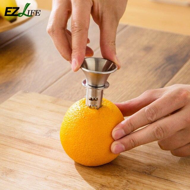 Mini Stainless Steel Fruit Lemon Juice Squeezers Manually Kitchen Use Fruit Orange Juice Squeezers Kitchen Accessories