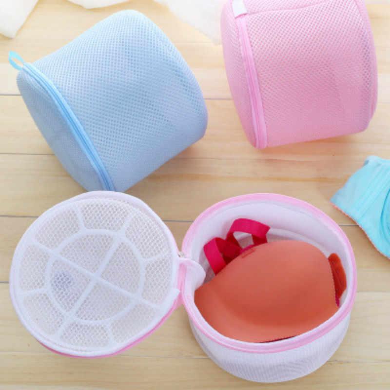 1 Pcs Roupas lavagem sacos de Máquina de Lavar roupa lavandaria Bra Lingerie Saver Aid Meias Meia Camisa saco de Lavagem Saco de roupa De Malha Net bolsa Cesta
