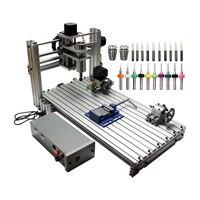 DIY CNC Router 3060 Metal Mini CNC Milling Machine for PCB Wood Carving