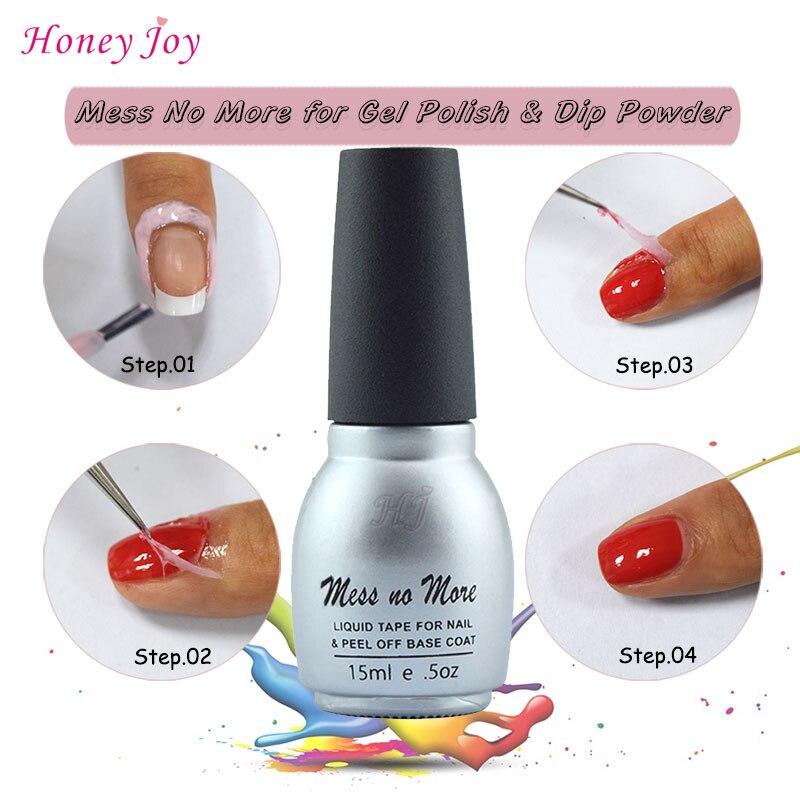 Mess No More! Liquid Tape for Dip Powder Nails Dipping Nails-in Nail ...