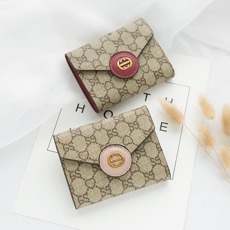 [Hely Coptar] 4Colors Pvc Print Patchwork Fashion Women Wallet 2018 New Short Fold Female Purse Luxury Europe America Style Cute худи print bar america