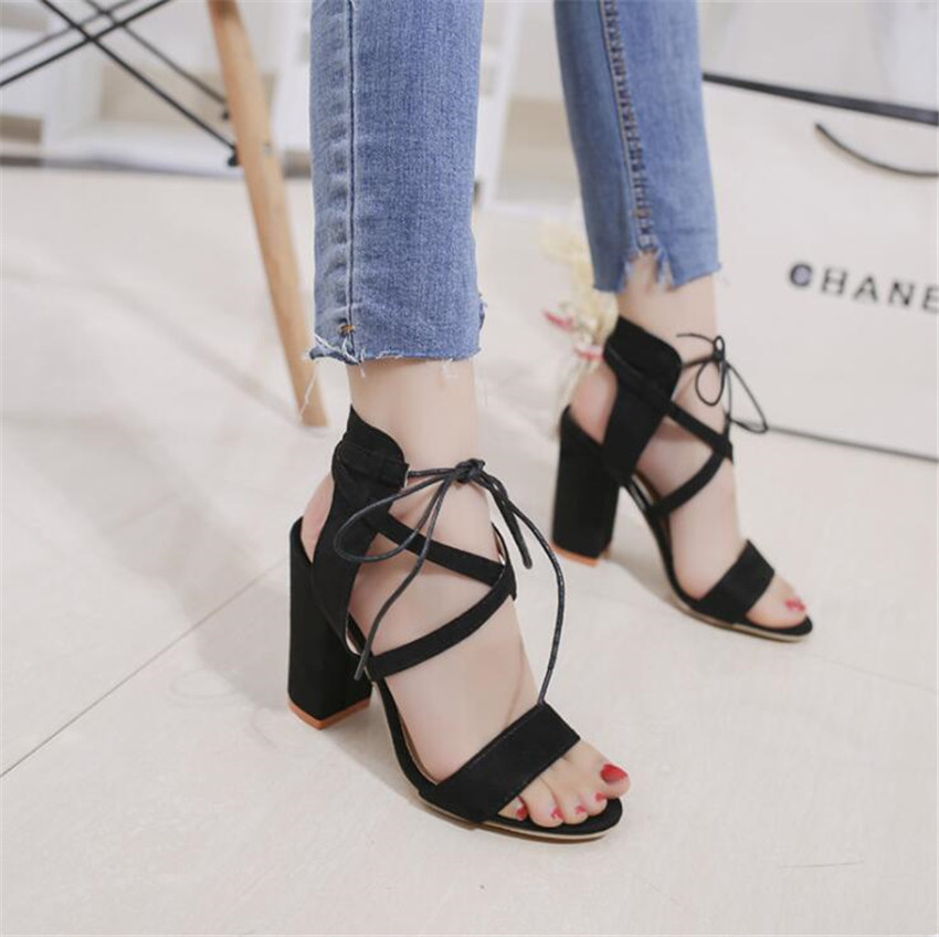 ZOUDKY 2019 spring Korean T Strap new fish mouth high profile fashionable font b women s