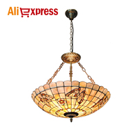 21 inch cherry butterfly shell pendant lamp living room bedroom bar hanging lamp