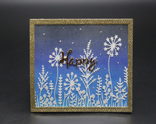 Greeting Card Floral Background Metal Cutting Dies Scrapbooking Embossing DIY Decorative Cards Cut Stencils