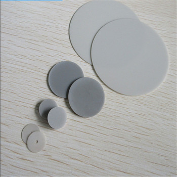 Aluminum nitride ceramic gasket round 15/26/30/40/45/50/52/60/72.6 insulated high thermal conductivity substrate