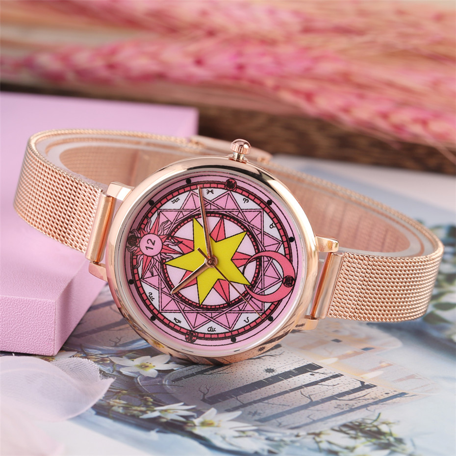 Lovely Female Watch Cuff Bangle Accessories Gift Lady Quartz Timepieces Casual Women Watches Elegant Clock New Arrival 2019 in Women 39 s Watches from Watches