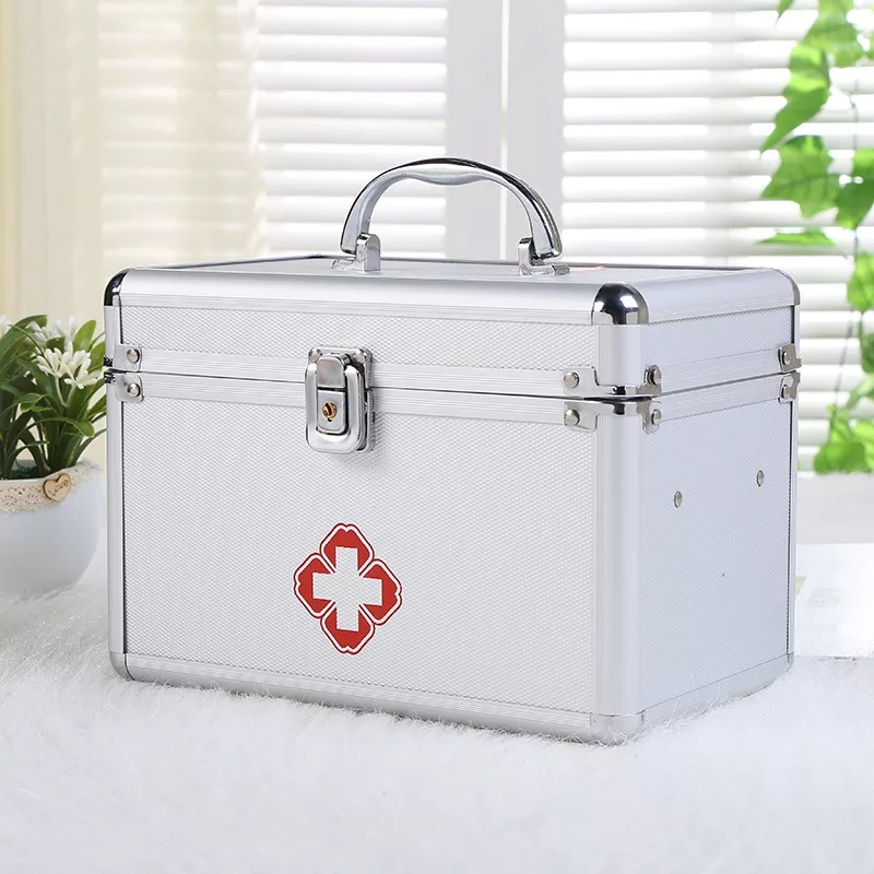 IMG_9302  CXB21-CXB40 3M aluminum alloy medical package moveable double-layer moveable first assist package customized medication field HTB1kT7AhHZnBKNjSZFhq6A