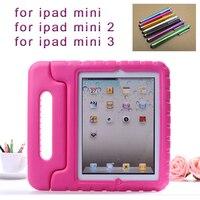 Stylus Pen New Cute Proof EVA Cover For Apple IPad MINI Cases Kids Children Safe Silicon