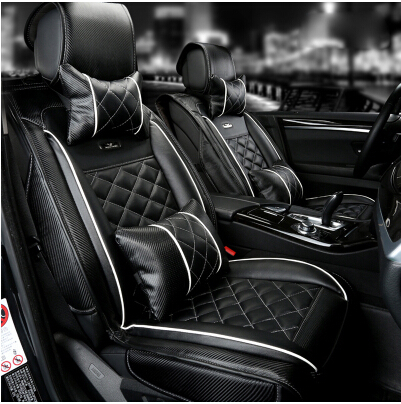 Newly Special Seat Covers For Nissan Altima 2014 Comfortable Carbon Fiber Leather