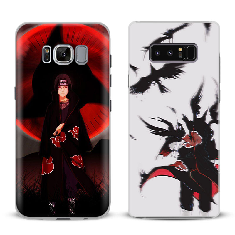 Naruto Itachi Uchiha Phone Case Cover Shell For Samsung