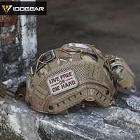 IDOGEAR Taktische Helm Abdeckung für FAST Helm Camo Multicam Airsoft Headwear Taktische Zubehör 3802
