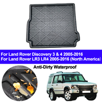 Rear Trunk Mat Cargo Tray Boot Liner Carpet Protector Floor Pad Mats For Land Rover Discovery 3 4 LR3 LR4 2005 2014 2015 2016