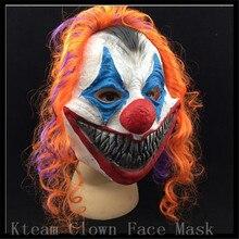 New Scary Clown Mask Joker Men s Full Face Party Day Horror Funny Women Mask For
