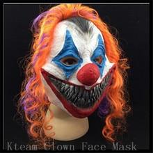 New Scary Clown font b Mask b font Joker Men s Full Face Party Day Horror