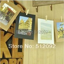Free shipping Zakka diy hanging paper photo frame photos of wall twiner combination clip 6 кружка zakka