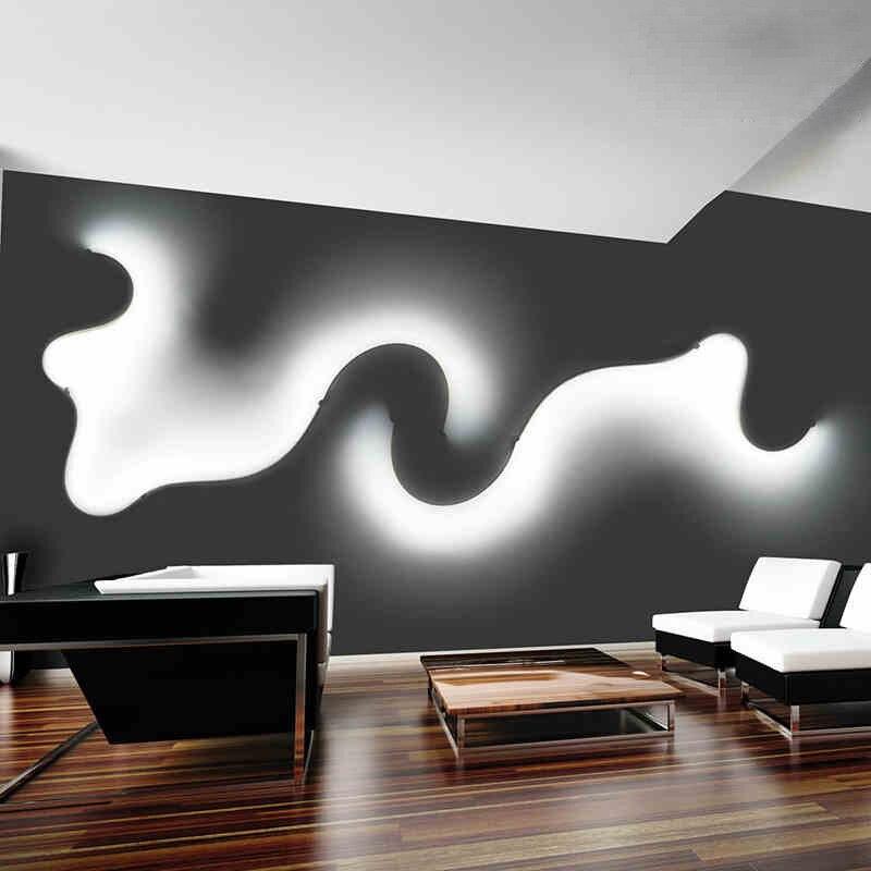 ალუმინის კედლის ნათურა - შიდა განათება - ფოტო 4