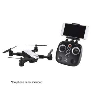 X28 2.4G FPV Foldable GPS Drone RC Quadcopter with Adjustable 720P HD Camera Real-time Altitude Hold Follow Me