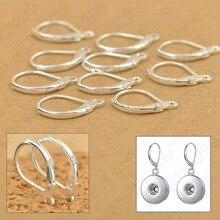 100 шт 925 пробы серебро DIY бисерные фурнитура крючки для сережек компоненты фурнитуры
