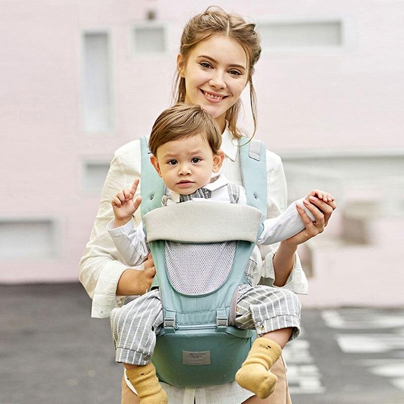 Ergonomie 1-36M porte-bébé Hipseat respirant prévenir o-type kangourous bébé sac à dos pour transporter des enfants envelopper bébé fronde